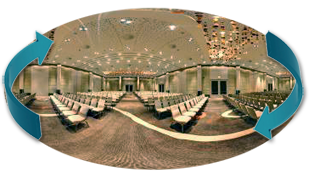 radisson blu conference halls virtual tour